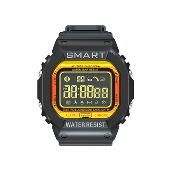 LOKMAT MK22 Sports Smart Watch Fitness Pedometer Water Resistance Call Reminder Clock SmartWatch Men For iOS Android