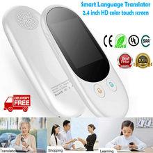 Умный переводчик F1 в режиме реального времени, многоязычное карманное устройство для голоса, поддержка 50+ язык s