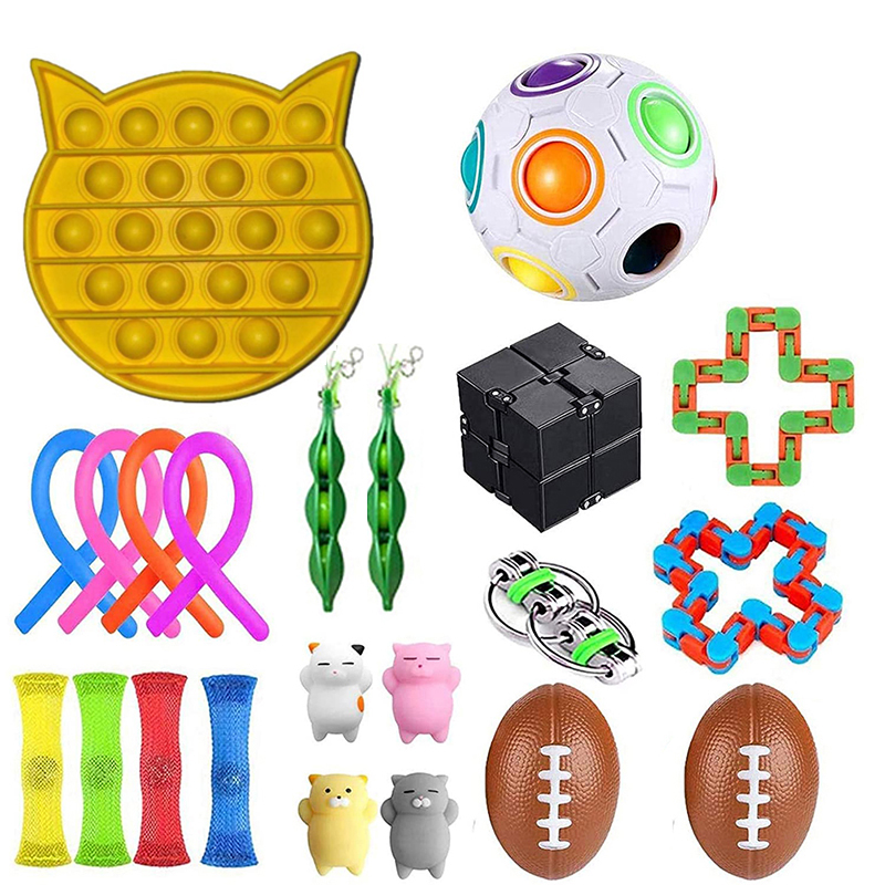 Fidget Sensory Toy Fidget Set Stress Relief Toys Autism Anxiety Relief Stress
