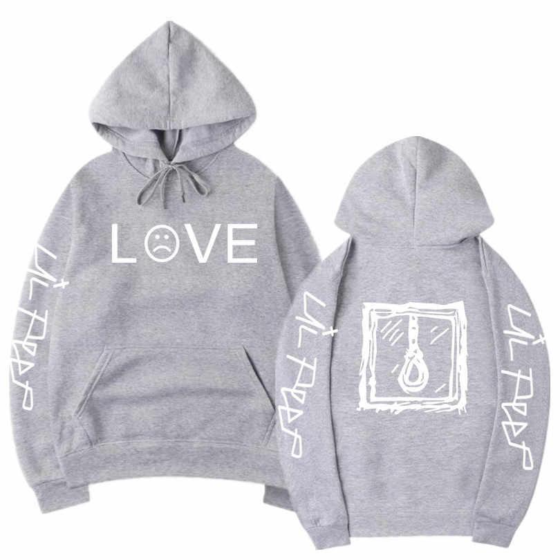 Lil Peep Hoodies Liefde Lil. peep Mannen Sweatshirts Hooded Trui Sweatershirts Man/Vrouwen Sudaderas Cry Baby Streetwear Hoodie Mannen