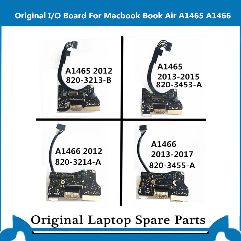 Genuine A1466 A1465 I/O Board For Macbook Air 13