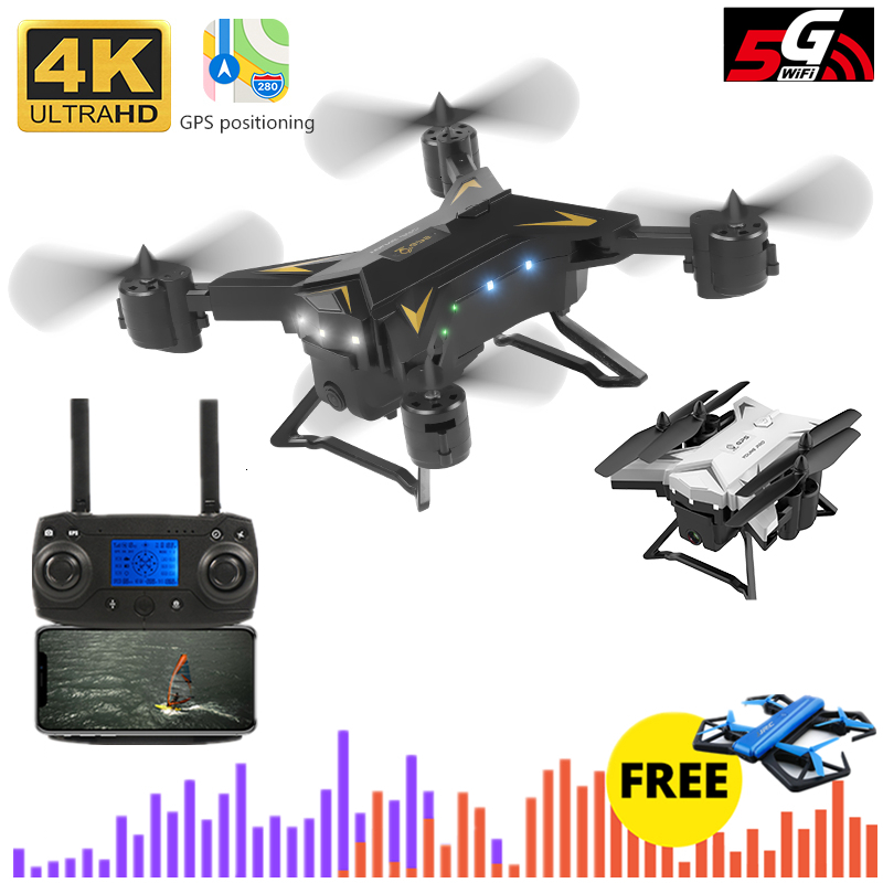 KY601G GPS Drone With 5G 4K HD Camera 2000 Meters Control Distance Quadcopter Follow Me RC Helicopter Toy VS XS812 E520S Dron