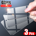 Комплект из 3 предметов, Защитная пленка для экрана из закаленного стекла для Samsung Galaxy A50 A70 A51 A71 A30 A20 A10 протектор экрана для Samsung A52 A72 A20E стекло