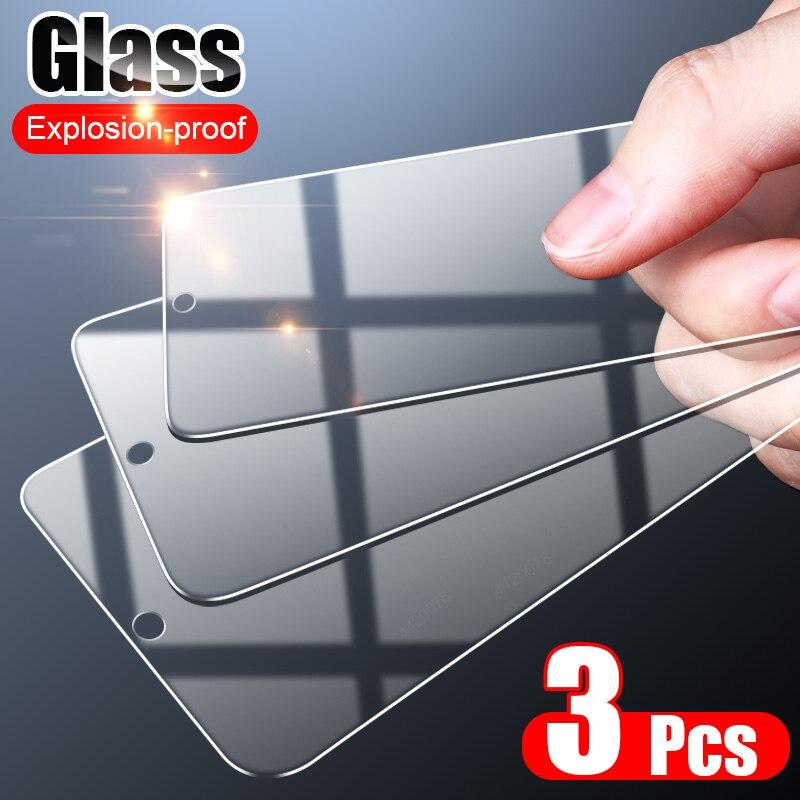 Protector de pantalla de vidrio templado para Samsung Galaxy, Protector de pantalla de vidrio templado de cobertura completa para Samsung Galaxy A50, A70, A51, A71, A30, A20, A10, M30s, A50s, A20E, 3 uds.