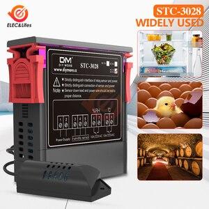 Image 5 - Digital Thermostat Hygrostat Temperature Humidity Controller AC 110V 220V DC 12V 24V Regulator Heating Cooling Control STC 3028
