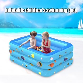 Inflatable Swimming Pool Water Game PVC Ball Pool for Children Kids Outdoor Summer BHD2