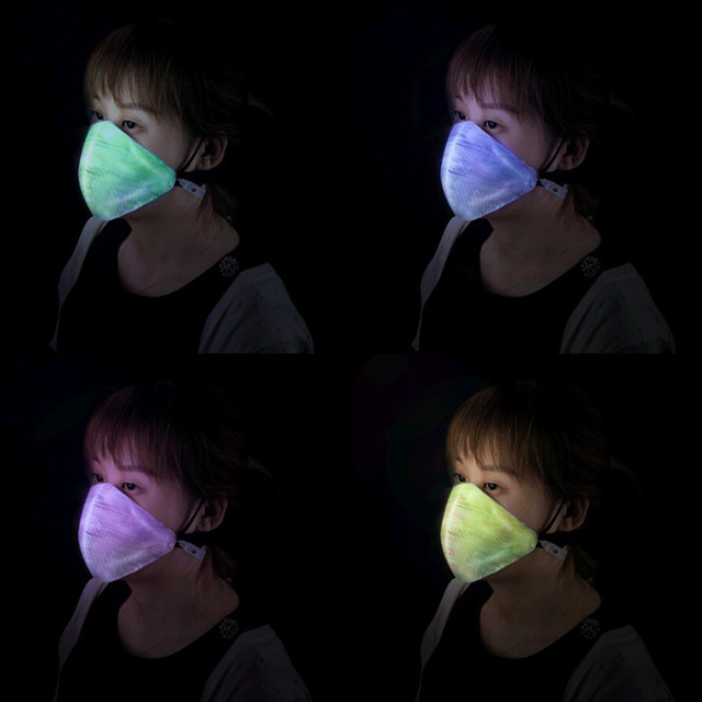 EDM Flashing LED Mask  2