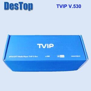 Image 1 - 5個オリジナルtvip 530 S905W 1グラム8グラムlinux I P T VボックスI P T Vストリーミングtvボックスサポートprotal tvip v530