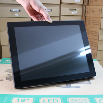 цена на 10.4 15 17 12.1 Inch Monitor Capacitive Touch Screen Industrial Display VGA USB interface 1024*768 embedded computer monitor