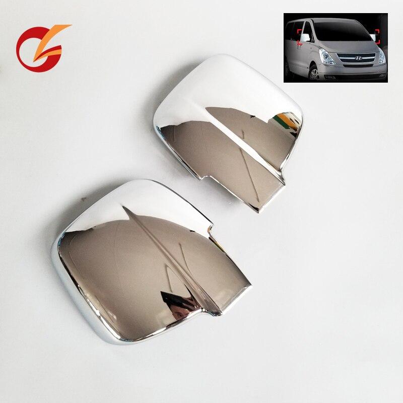 Gebruik Voor Hyundai H1 Grand Starex I800 Imax 2007 08 09 10 11 12 13 14 15 16 17 18 19 Model Zijspiegel Chrome Cover Trim