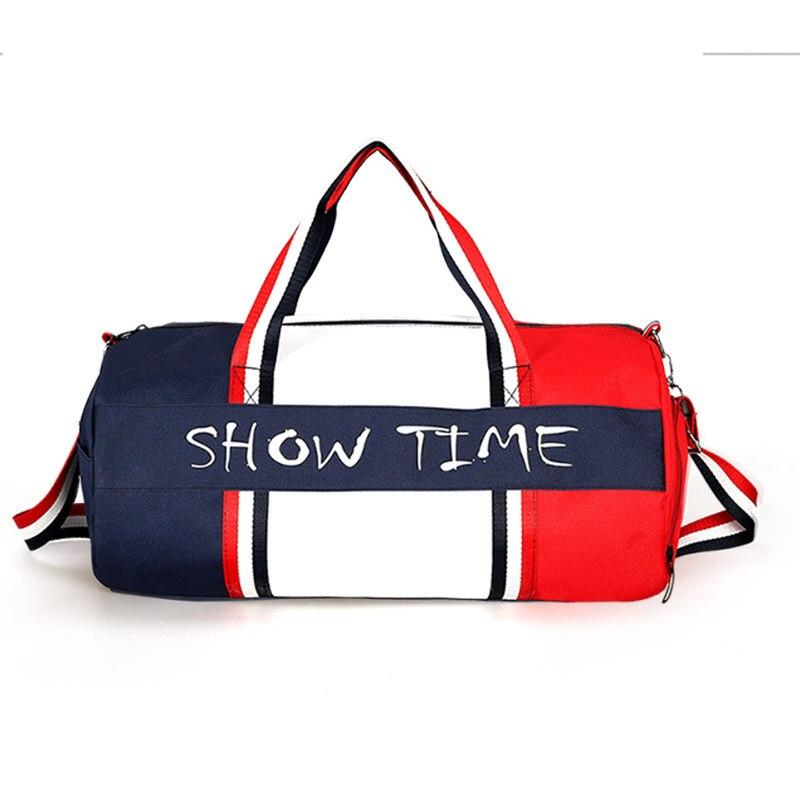 Canvas Women's Travel Bags Yoga Gym Bag For Fitness Shoes Handbags Shoulder Crossbody Pouch Women Men Sac De Sport Pack
