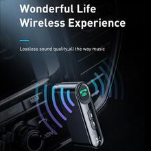 Автомобильный Bluetooth 5,0 беспроводной адаптер 3,5 мм аудио приемник громкой связи поддерживающий адаптер широкий приемник совместимости