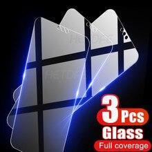 Protective-Glass Screen-Protector Huawei Y7 Y5-Lite Prime for Y6 Y9s/Y8s/Y8p/.. 3pcs