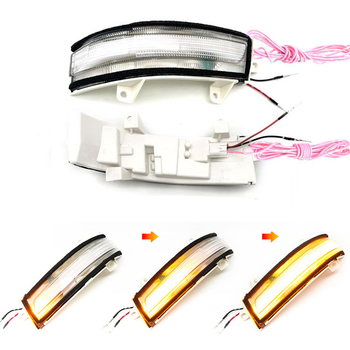 for Civic JADE CRIDER CITY LED Car Side Wing Rearview Mirror Sequential Dynamic Turn Signal Light Blinker Lamp