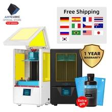 ANYCUBIC 3D 프린터 Photon S 빠른 슬라이스 매트릭스 UV 라이트 405nm 듀얼 Z 축 SLA 3d 프린터 포토 업그레이드 모듈