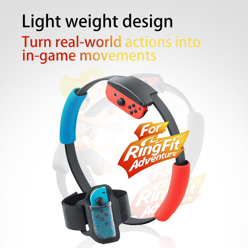 Mr NEW Ring Fit Adventure For Nintendo Swith Adjustable Leg Strap Set Sports For Ring Fit Adventure Ring-con Included Durable