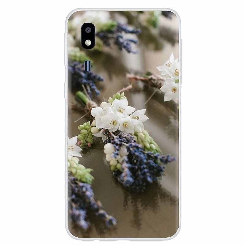 For Meizu M6 M5 M6S M5S M2 M3 M3S NOTE MX6 M6t 6 5 Pro Plus U20 Incredible Silicone Phone Case Lavender Flower Lavandula vanilla
