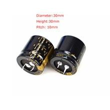 One Pair Original 4700UF 35V 30x30mm Audio KG-II File Filter Capacitors конденсатор nichicon kg super through 16v 4700uf