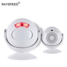 Motion Sensor PIR Infrared Store Shop Door Bell Home Burglar Alarm Led Light Sensor de movimiento Alarm System USB 5V Doorbell стоимость