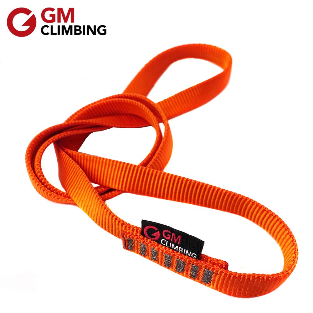 2pcs Sling 23KN Rock Nylon Sling Runners Personal Anchor System for Outdoor Climbing,Swing,Yoga Hammock