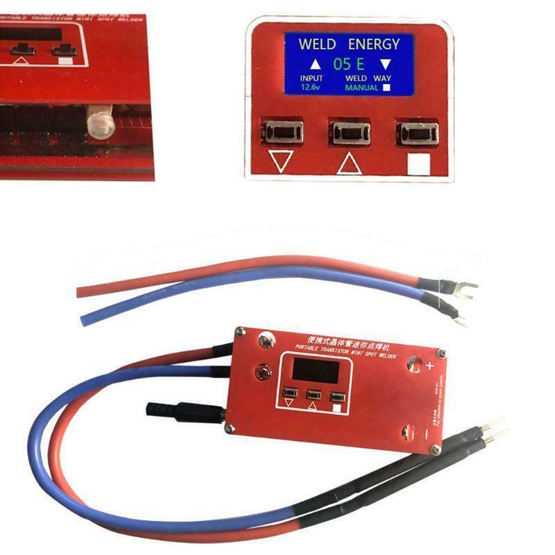 DIY Portable Spot Welding Machine 12V Battery Storage PCB Circuit Board Welding Equipment Spot Welders Pen For 18650/26650/32650