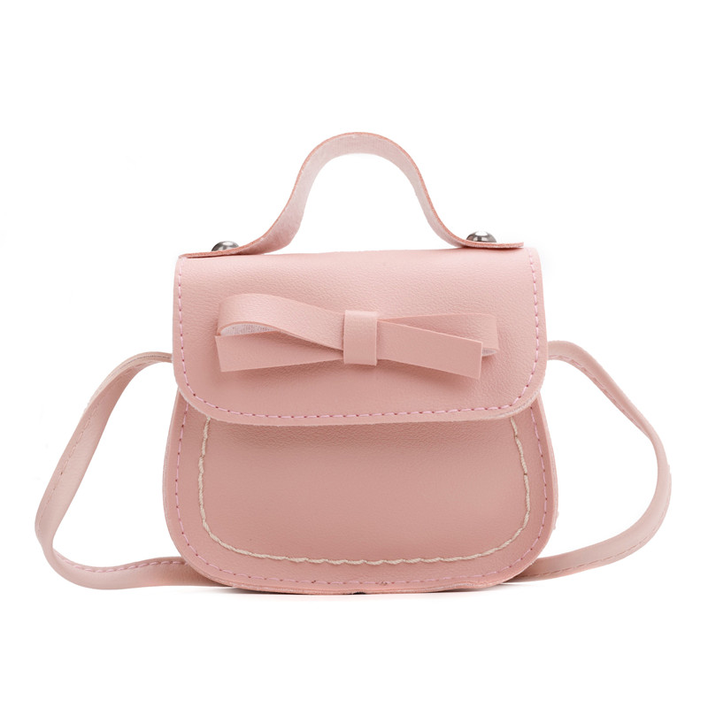 Coin Purse Handbag Baby-Girls Children Messenger-Bags Gift Princess Kids Cute Solid New