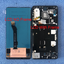 "5.99 ""orijinal Axisinternational Xiaomi Mix 2s için mix2s Mi Mix 2s LCD ekran + dokunmatik Panel çerçeve ile Mi Mix 2S"