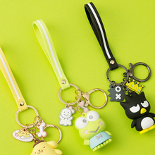 Cartoon Pudding Dog Keychain My Melody Big Eye Frog Key chain Pendant for Men's And Women's Wallets Creative Gifts For Children цены