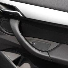 Maniglia del pannello della porta interna dellautomobile copertura automatica del bracciolo del rivestimento di trazione decorazione personale esterna delle parti di automobile per gli accessori di BMW X1 X2 F48 F49