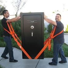 Transport-Belt Furniture Lifting Storage Team-Straps Mover Orange Conveying Easier