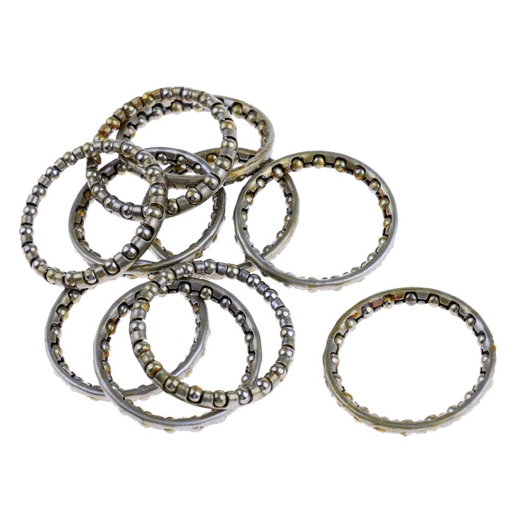 10 шт./лот, подшипники для велосипедных гарнитур с 22 стальными шариками, для гарнитуры 33 мм 44 мм