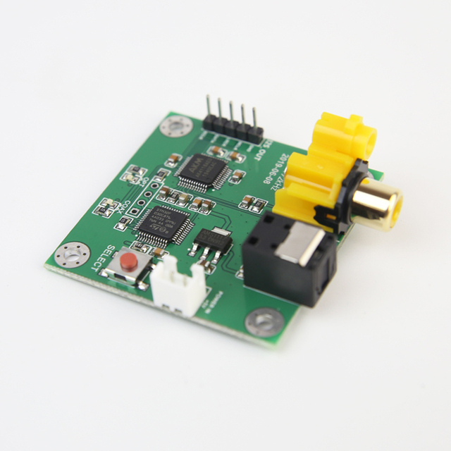 AK4118AEQ scheda ricevitore fibra coassiale a I2S uscita 24Bit192kHz Soft Control