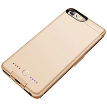 8000mAh Power Bank Case Charging For iPhone 6P/6SP/7P/8P Battery Case Charger Case Power Bank Charger Case Mobile Phone