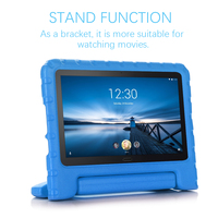 screen film For Lenovo Tab M10 Tab P10 10.1 Inch X605 2019 Tablet Case EVA Shockproof Portable Handle Protective Stand Cover And Screen Film (2)