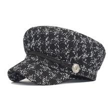 Newsboy Cap Gatsby Paperboy Hat Beret-Hats Peaked Retro Women's with Comfort Elastic-Back
