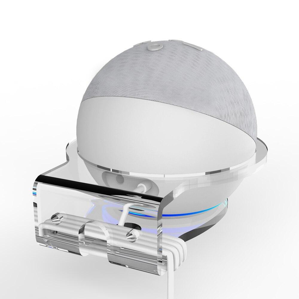 Настенный держатель для выходного отверстия Echo Dot 4, экономия места в динамике, кронштейн для Echo Dot4 Generation