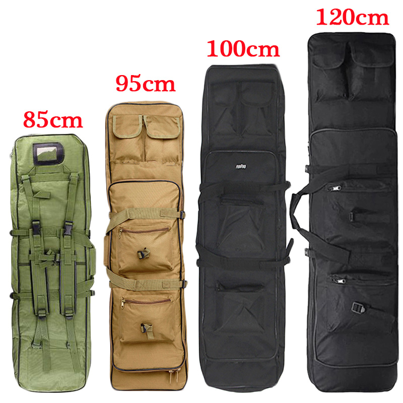 85 95 100 120cm Nylon Gun Bag Case Rifle Bag Backpack For Sniper Carbine Airsoft Holster Shooting  Bags Hunting Accessories