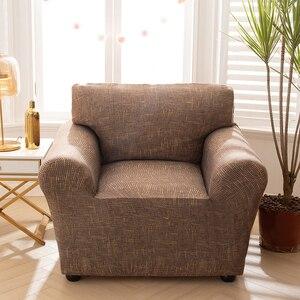 Image 5 - Чехол для кресла эластичный чехол для дивана хлопок стрейч Чехлы для дивана для гостиной Copridivano чехол для одного дивана чехол для дивана