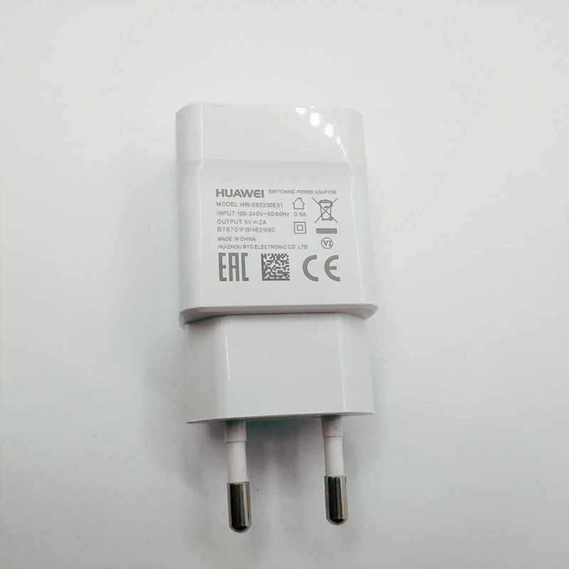 Huawei 100 ซม.Micro USB ข้อมูลสายเคเบิลโทรศัพท์มือถือ Wall Charger 5V 2A อะแดปเตอร์สำหรับ Ascend P6 P7 P8 p9 P10 Lite Nova 3i Mate 9 Lite