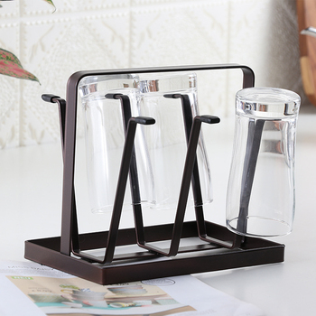 6 Hooks Cup Holder Kitchen Bar Mug Tree Dishes Dry Rack Coffee Cup Hanger Storage Stand Dish Plate Bowl Cup Pot Lid Shelf Rack Buy At The Price Of 11 80 In