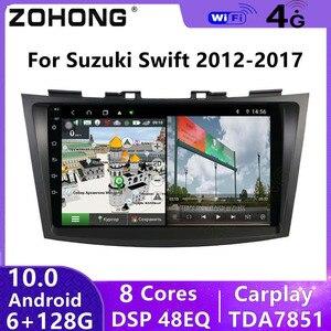 Image 1 - Reproductor Multimedia con GPS para coche, autorradio estéreo con Android 10, DSP, 4G, Audio, para Suzuki Swift 2012, 2013, 2014, 2015, 2016