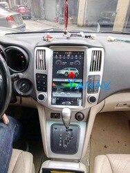 11,8 Android вертикальный sceen радио Автомобильный мультимедийный плеер стерео GPS навигатор для-Lexus RX RX300 RX330 RX350 RX400H 2004-2008
