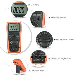 Image 5 - VC99 VC97A新VC97 1000vデジタルマルチメータdc acオートレンジdmm温度電流計静電容量抵抗ダイオード