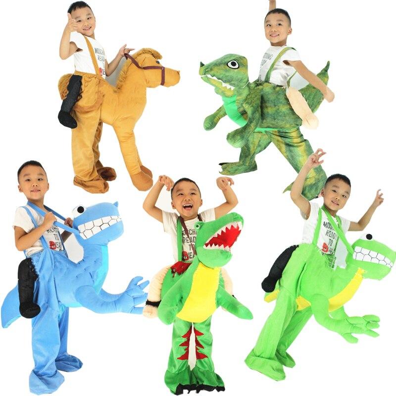 Novelty Toys Ride on Me Dinosaur T-rex Horse Camel Costume Animal Pants Fancy Dress Oktoberfest Halloween Party Cosplay Costumes