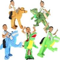 Novelty Toys Ride on Me Dinosaur T rex Horse Camel Costume Animal Pants Fancy Dress Oktoberfest Halloween Party Cosplay Costumes