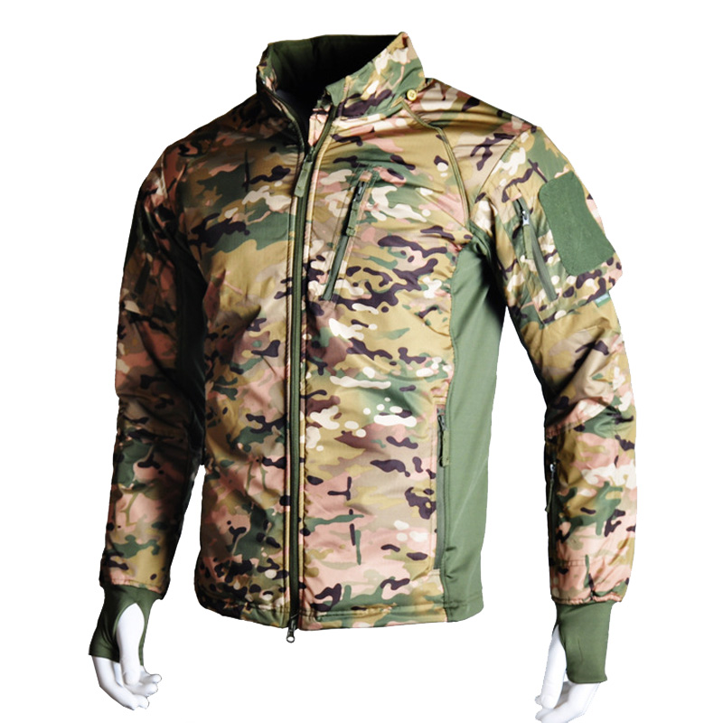 Tactical Men's Waterproof Military Camouflage Winter Fleece Jacket Army Clothing Multicam Windbreaker Hiking Camping Coat