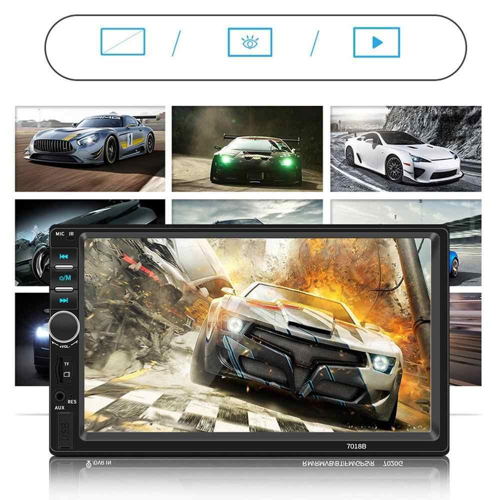Hd 7 インチ車 Mp4 カード機車 Mp5 プレーヤー Bt 反転車アンドロイド Apple の接続車プレーヤー