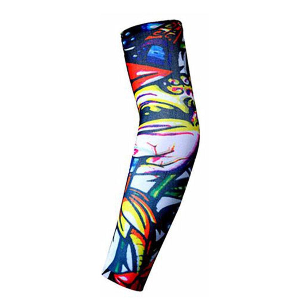 Men Women New High Elastic Fake Temporary Tattoo Sleeve Designs Body Arm Warmers
