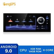2 Din Stereo Android 9.0 per Lexus IS 2013 2017 Navigazione GPS Lettore DVD FM/AM Radio 4G + 64G DVD Player Multimedia 4K Unità Principale