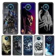 Thin Soft Case for Nokia 2.2 2.3 3.2 4.2 6.2 7.2 1.3 5.3 8.3 5G Phone Silicone Cover Shell Fundas Alien Vs Predator stylish alien vs predator shape key ring
